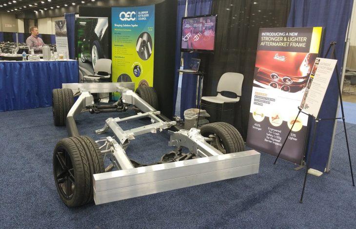light weight aluminum car frame