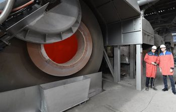 Trimet - rotary furnace