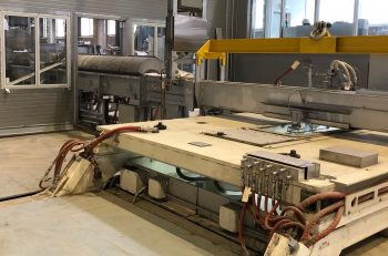Rusal casting table