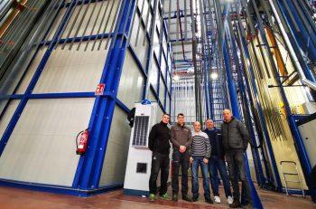 Aluminios Cortizo Installs Vertical Powder Coating Line from SAT