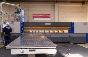TCI Precision Metals new plate saw
