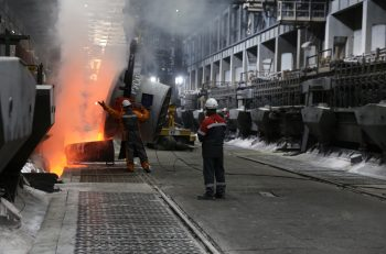 Krasnoyarsk Smelter implents Eco-Soderberg smelting technology