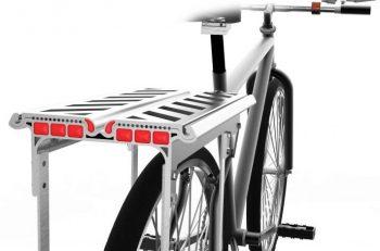 aluminum extrusion desging competition - bike rack