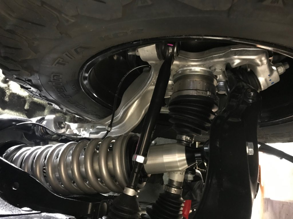 Figure 2. Forged aluminum front knuckle in a 2020 Ford Ranger. (Source: Mayflower Consulting.)